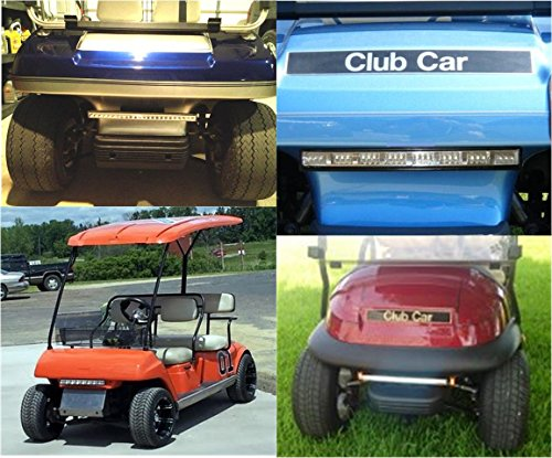 LiTESeasy Deluxe Wireless Remote Control Golf Cart LED Light &Turn Signal Kit w/Free Pocket Remote by TecScan (Image #7)