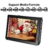 "10"" Portable HDMI Small TV,Acogedor ATSC Car TV Digital Television,1080P HD Video Player"