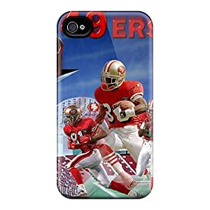 New Arrival Cover Case With Nice Design For Iphone 4/4s- San Francisco 49ers