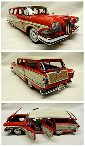 1/24 Scale 1958 Edsel Bermuda Station Wagon by the Danbury Mint