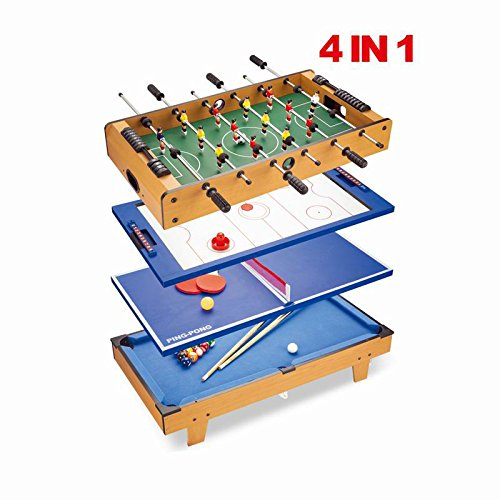 Gentil Costway 4 IN 1 Multi Games Table Play Set Air Hockey Tennis Football Pool  Table Billiard: Amazon.co.uk: Sports U0026 Outdoors