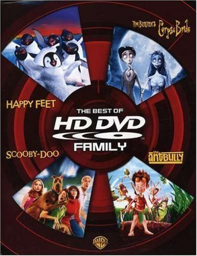 The Best of HD DVD - Family (Happy Feet / Tim Burton's Corpse Bride / Scooby-Doo / The Ant Bully) by Warner Home Video by John A. Davis, Judy Morris, Mike Johnson, Raj George Miller