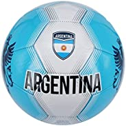 Nantong Tianyuan Machine Stitch Soccer Ball with Country Name Design B Size: 5
