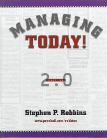 Managing Today! (2nd Edition)