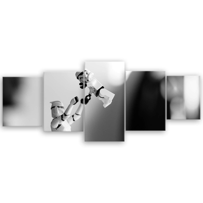 ge Bildet !!! SENSATIONSPREIS Hochwertiges Leinwandbild - Stormtrooper III Trouble - 30 x 20 cm einteilig | Angebote der Woche Geschenke für Frauen Geschenke für männer | ge-Bildet