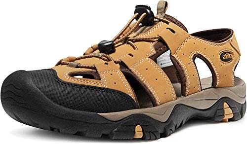 Atika Mens Sandali Sportivi Trail Outdoor Water Shoes 3layer Puntale M106 / M107 At-m106-cml