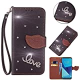 Best Closures For Motorolas - Leecase Bling Diamond Sparkle Glitter 3D PU Leather Review