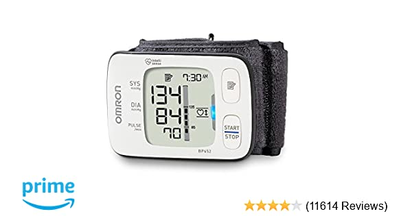 Amazon.com: Omron 7 Series Wrist Blood Pressure Monitor; 100-Reading Memory with Heart Zone Guidance and UltraSilent Inflation by Omron: OMRON: Health ...
