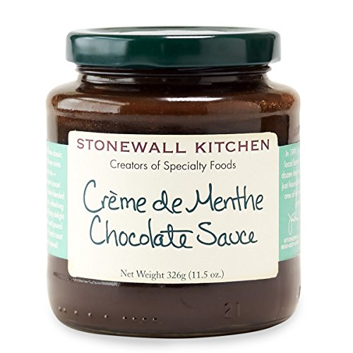 Chocolate Mint Creme (Stonewall Kitchen Creme de Menthe Chocolate Sauce, 11.5 Ounces)