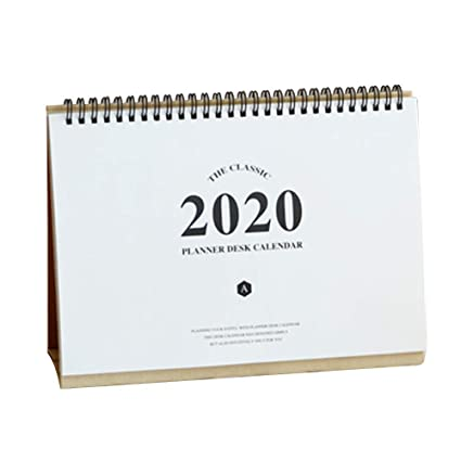 Dytiying Paper 2019-2020 - Calendario de escritorio de pie con ...