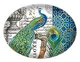 Michel Design Works Peacock Glass Soap Dish