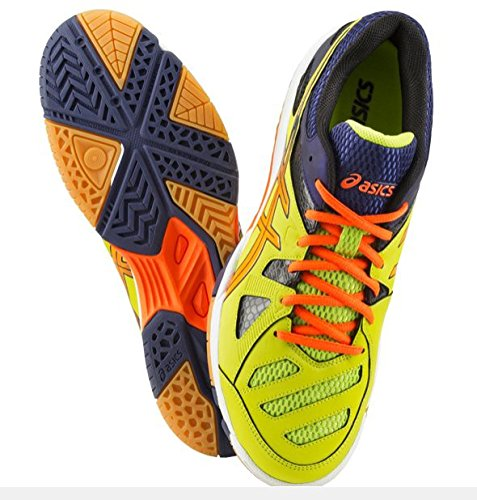 Ind enfoque zapatos 2 m Lime Punch/Flash Orange Talla: 46 (UE)