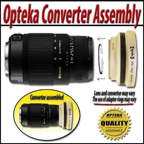Opteka 67mm 10x HD2 Professional Macro Lens for Digital Cameras