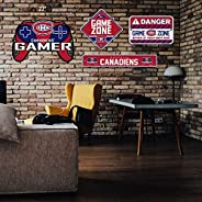 Montreal Canadiens Gaming 4 Piece Sign Set