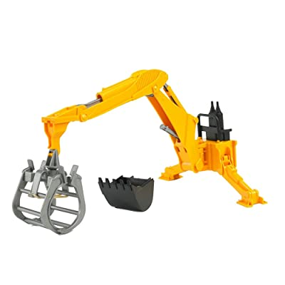 Bruder Rear Hydraulic Arm with Grab: Toys & Games