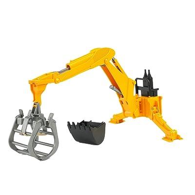 Bruder Rear Hydraulic Arm with Grab: Toys & Games [5Bkhe0304696]