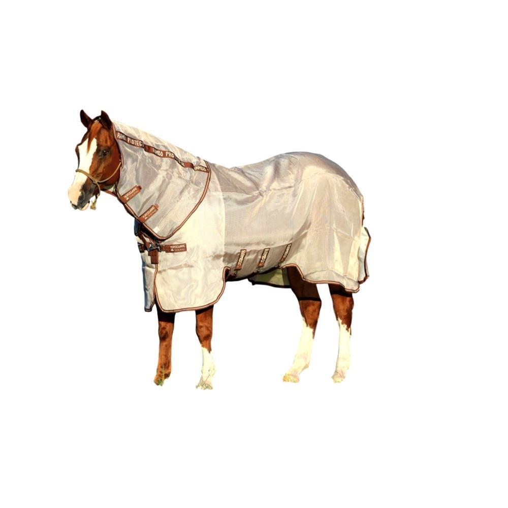 Rambo Horseware Protector Fly Sheet, Oatmeal/Brown, 84