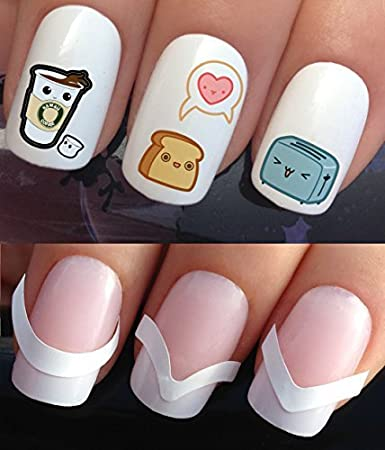 Amazon Water Nail Transfers Decals Stickers Art Set 336 172