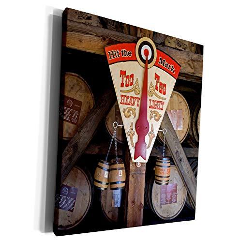 3dRose Danita Delimont - Kentucky - Kentucky, Makers Mark Bourbon in wood distillery - US18 LNO0001 - Luc Novovitch - Museum Grade Canvas Wrap (cw_90417_1)