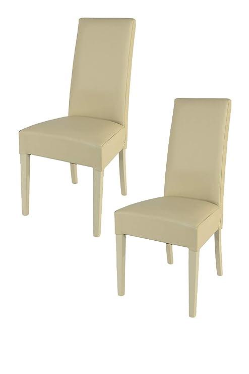 Tommychairs - Set 2 sedie Luisa Eleganti e Moderne per Cucina ...