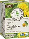 Traditional Medicinals Organic Dandelion Leaf & Root Herbal Leaf Tea, 16 Tea Bags (Pack of 6)
