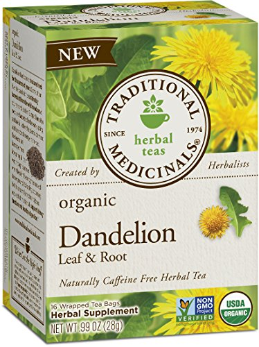 Traditional-Medicinals-Organic-Dandelion-Leaf-and-Root-Tea-16-Tea-Bags-Pack-of-6