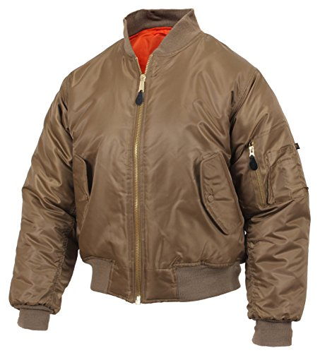 Rothco MA-1 Flight Jacket, Coyote Brown, 3XL