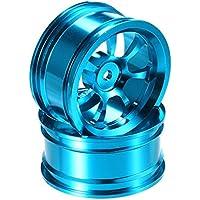 New 2PCS A-alloy Rims For 1/18 Upgrade WLtoys A959-B A979-B A959 A969 A979 K929 1/10 RC Cars By KTOY