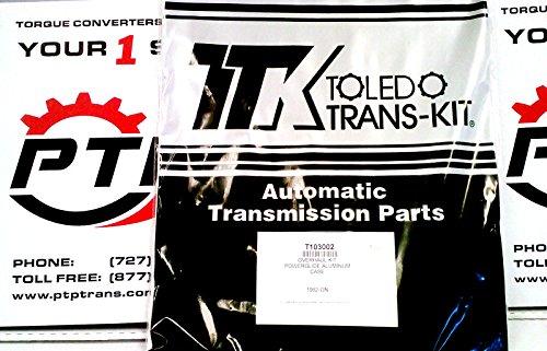 Aluminum PowerGlide Transmission Gasket and Seal Rebuild Kit 1962-1973