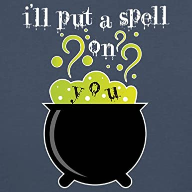 3-24 Months Baby//Toddler T-Shirt Ill Put A Spell On You