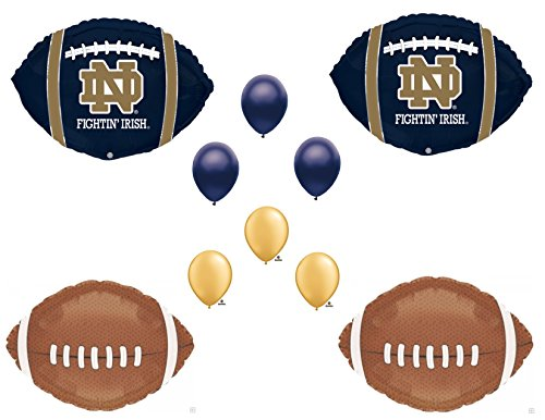 NOTRE DAME Football Game Day Birthday Party Balloons Decorations Supplies College University -
