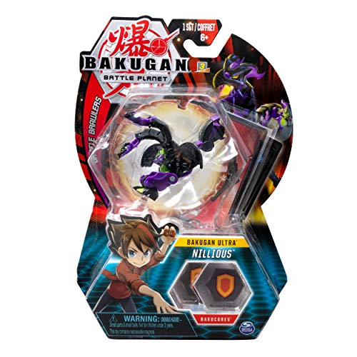 Bakugan Ultra Nillious is a new toy for boys ages 6 to 8