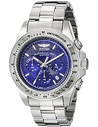 Men's 18391 Speedway Silver-Tone Stainless Steel Watch