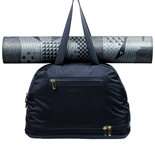 All-In Studio Yoga Gym Bag for Women with Wet Compartment by Trimr