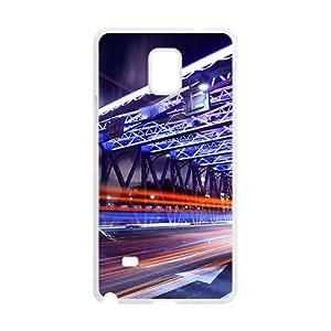 Bright City Road White Phone Case for Samsung Galaxy Note4 wangjiang maoyi by lolosakes