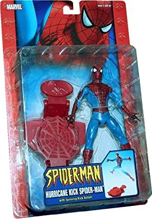 HURRICANE KICK SPIDER-MAN with Spinning Kick Action CLASSIC SPIDER ...