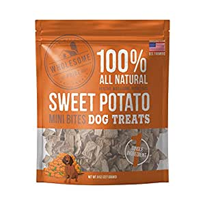 Amazon.com : Wholesome Pride Sweet Potato Mini Bites Dog