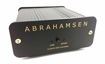 A-DAC II Abrahamsen Convertidor High-End de PC-USB a Digital y