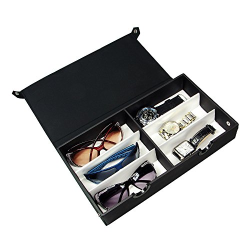 Eyewear Case For 6 Pairs Large Eyewears or Sunglasses. 13 1/2