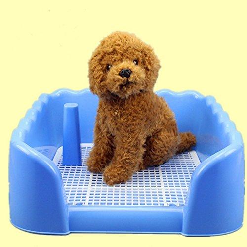 Indoor Pet Dog Fence Toilet Training Pad Plastic Tray Mat Pet Supplies Toilet Potty Pad Urine Splash EARTH