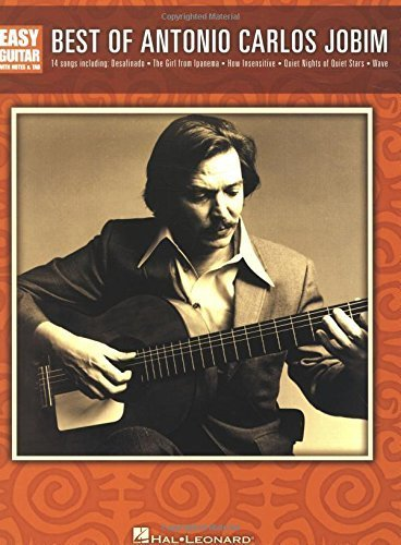 Best fo Antonio Carlos Jobim Easy Guitar With Tab (Easy Guitar With Notes & Tab) by Antonio Carlos Jobim (2008-09-01)