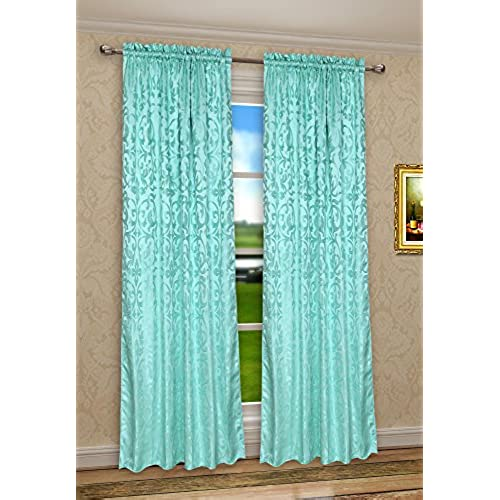 Bedroom Curtains On Amazon Small Bedroom Ideas Nyc Chalkboard Art Bedroom Bedroom Sets For Girls: Aqua Bedroom Curtains: Amazon.com
