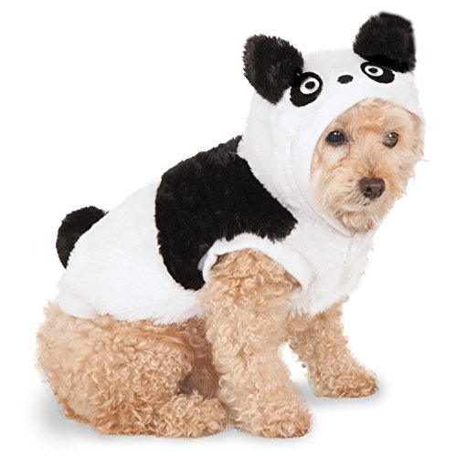Rubies Costume Panda Hoodie Pet Costume, XXX-Large