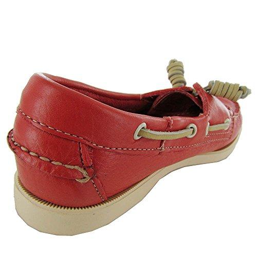 Red Zapatos Zapatos Sebago Sebago Montauk Barco wg48aaXq