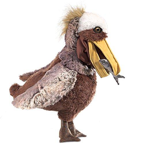 Folkmanis Pelican Hand Puppet Plush