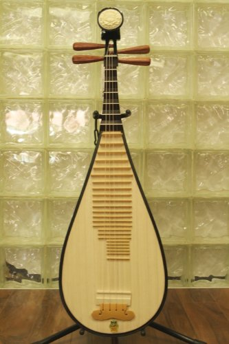 Dunhuang Pipa - Chinese Guitar / Lute with Rosewood Pegs by Dunhuang