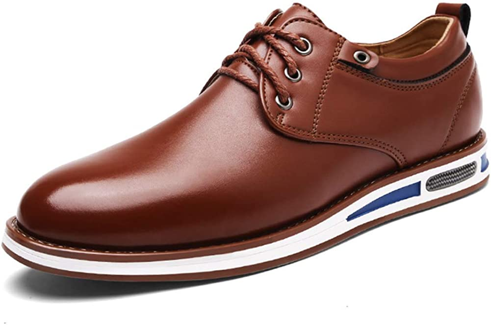 Topcloud Mens Casual Oxford Shoes Classical Lace Up Business Shoes Breathable Flat Fashion Sneakers
