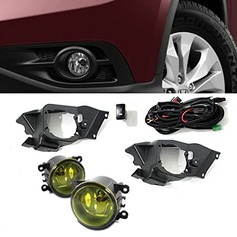 51BWY7z8AIL._SY463_ amazon com remarkable power hd532y 4s 12 14 honda crv front fog 2014 Honda CR-V at beritabola.co