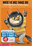 Scholastic Video Collection 3-Pack #1 - Where the Wild Things Are / Good Night Gorilla / Pete's a Pizza