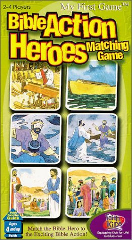 Bible Action Heroes: Matching Game